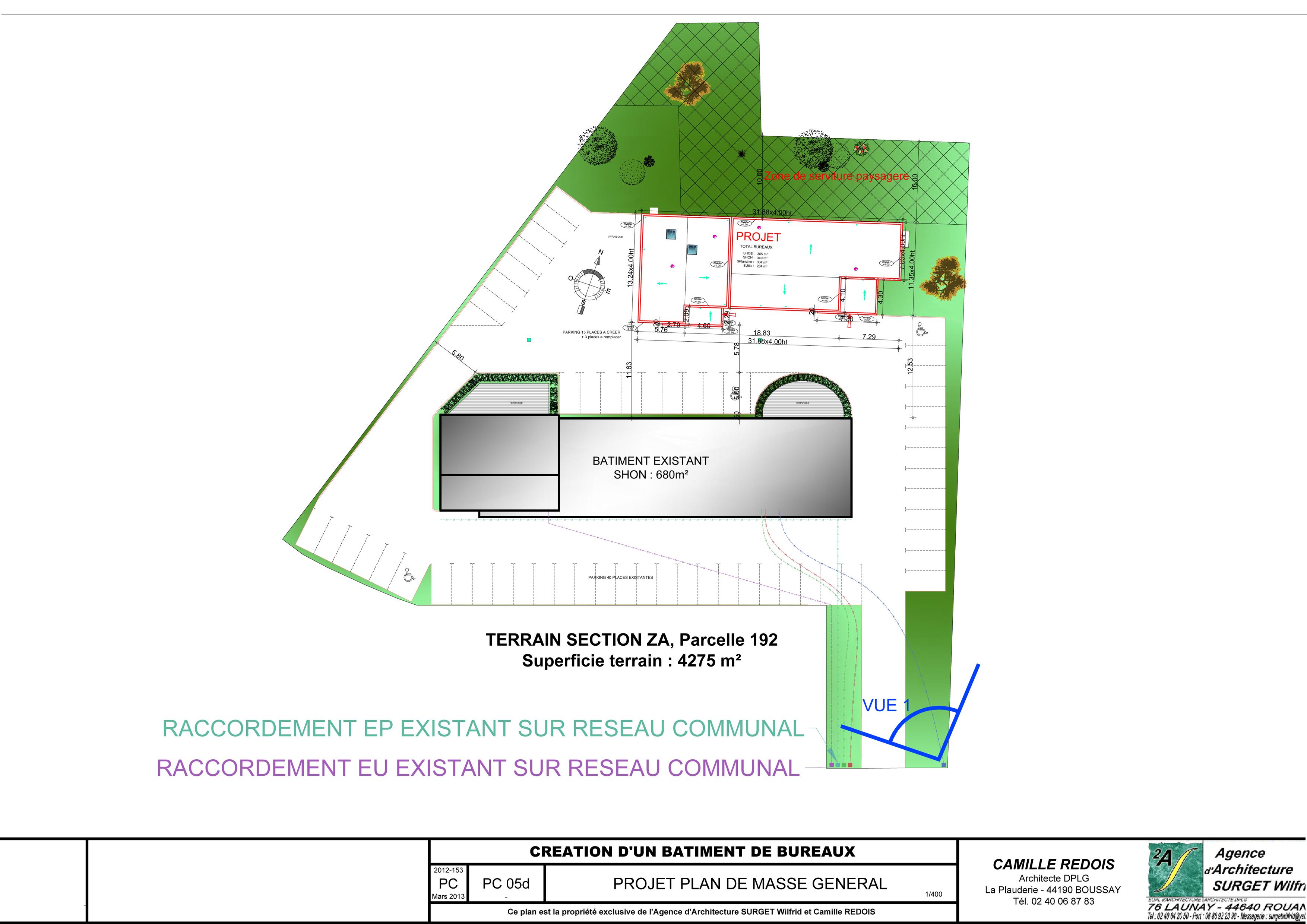 3A REDOIS-SURGET Architectes Commune de Pont-Saint-Martin