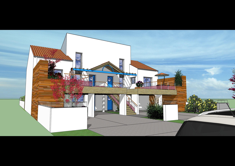 3A REDOIS-SURGET Architectes Commune de Pornic