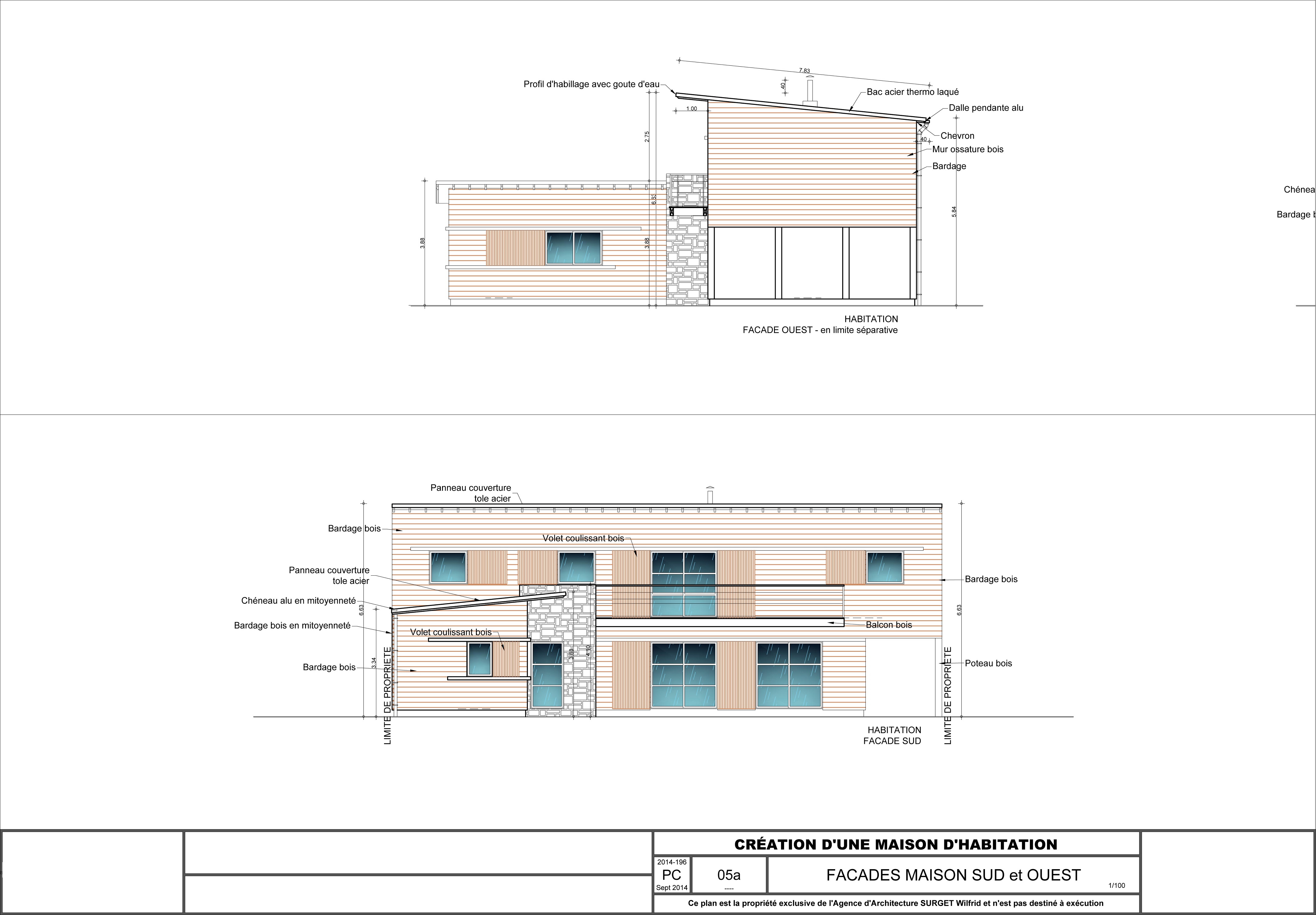 3A REDOIS-SURGET Architectes Commune de Saint Colomban