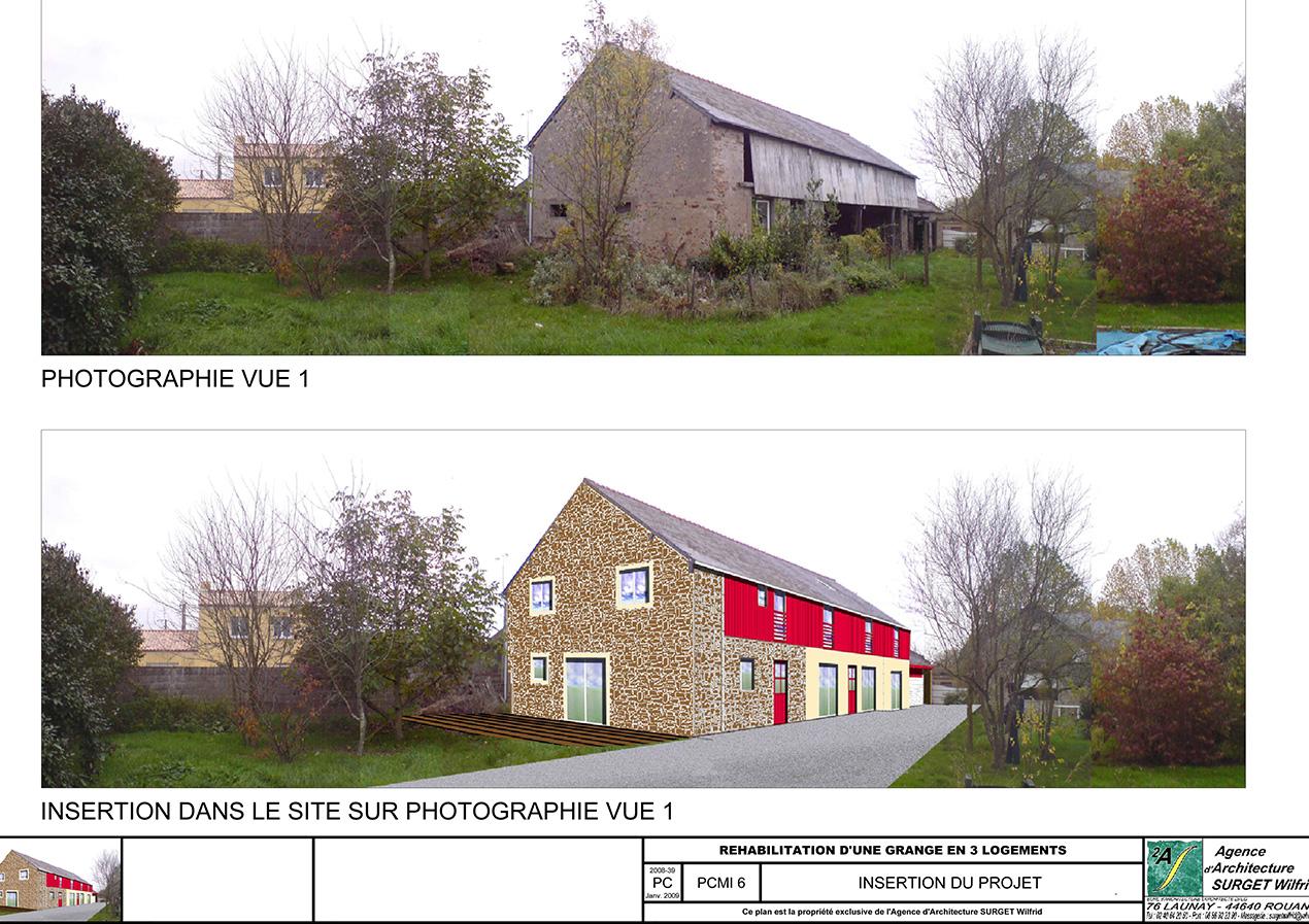 3A REDOIS-SURGET Architectes Le Pellerin