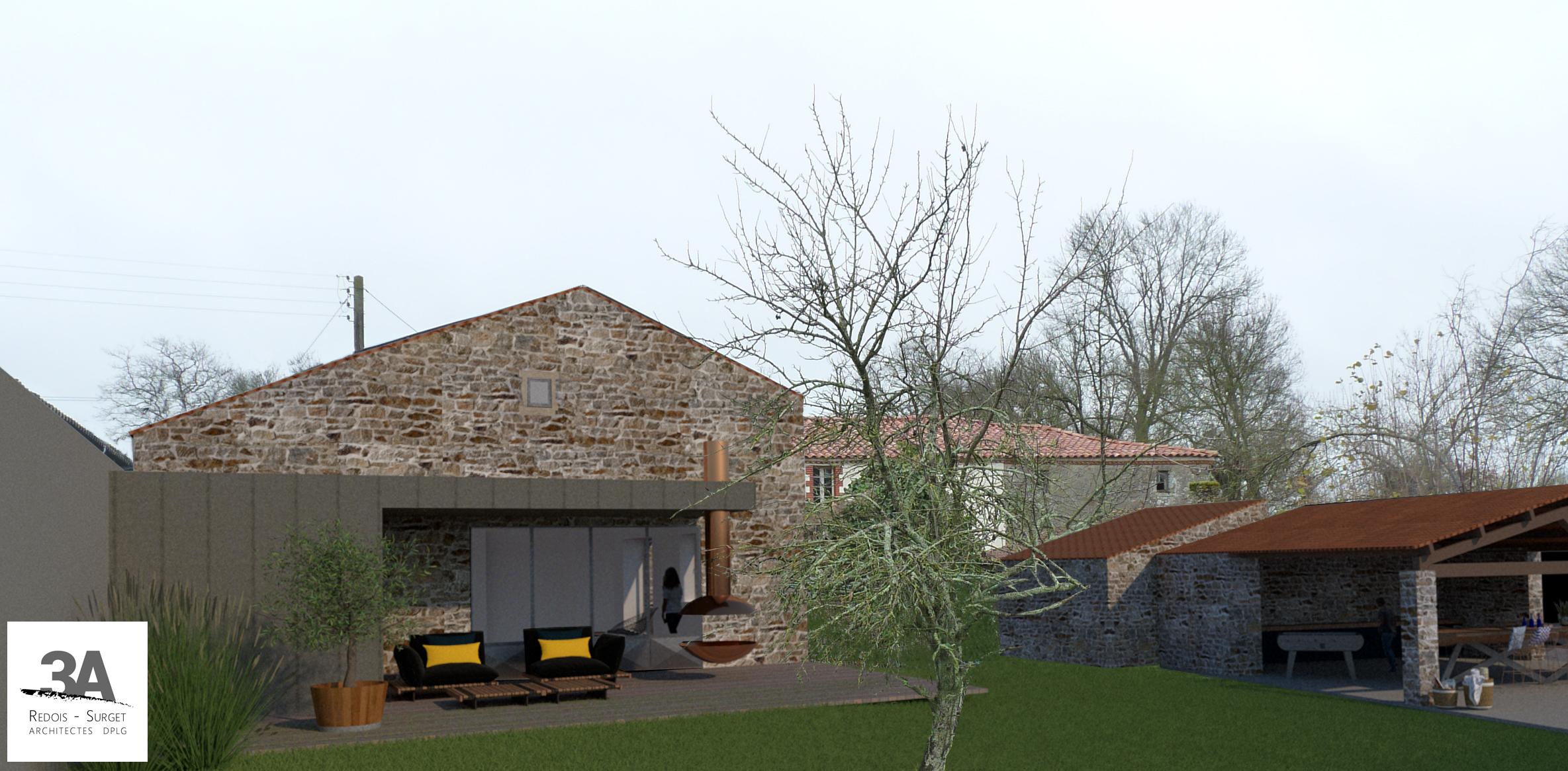 3A REDOIS-SURGET Architectes commune de GETIGNE