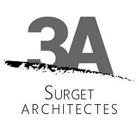 3A SURGET – Agence d'Architectes Associés Logo